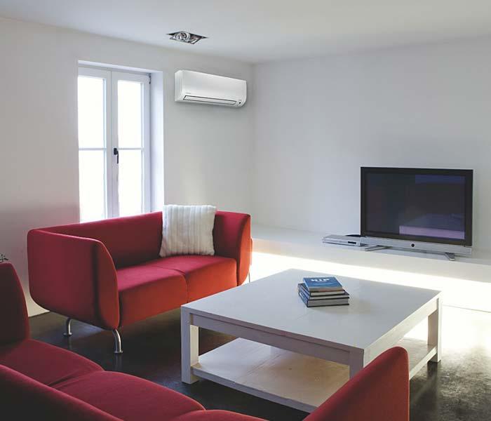 Klimagerät und Klimaanlage in der Wohnung München, Bayern